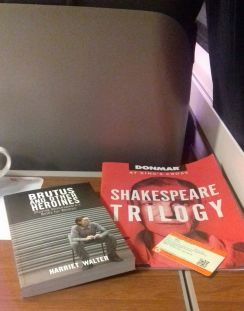 Inspirational reading material on the way back from London